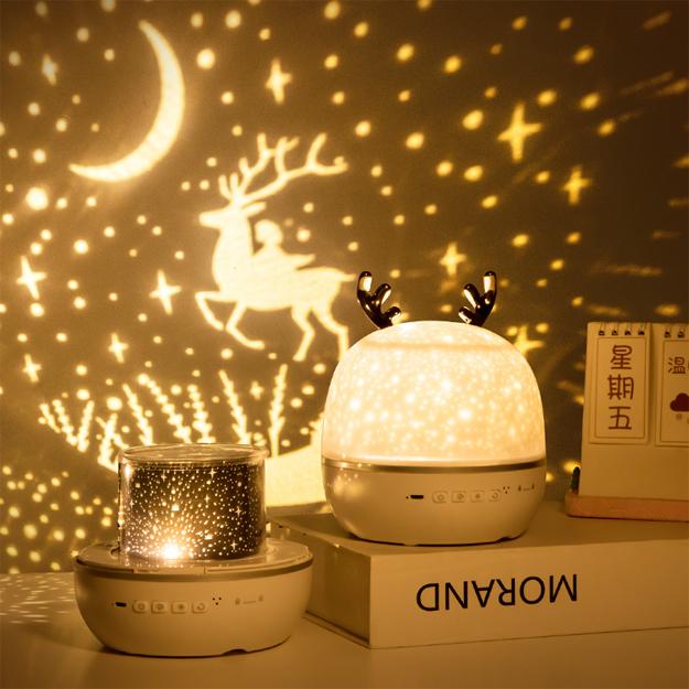 lampara proyector producto con 3 modelos