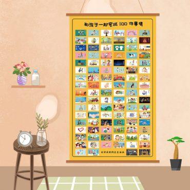 mural 100 cosas padres 2 hijos portada
