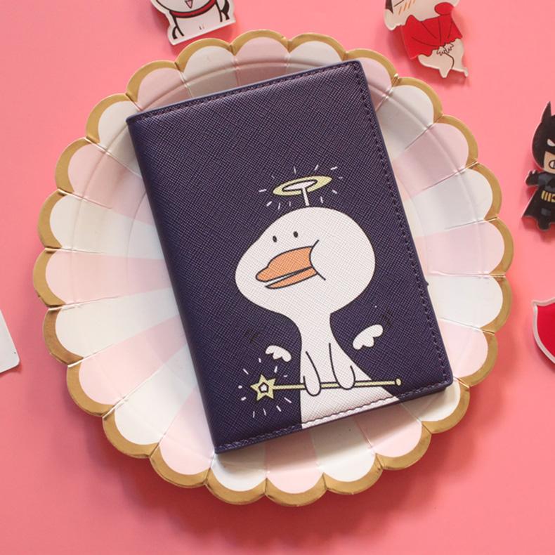 protector de pasaporte angel