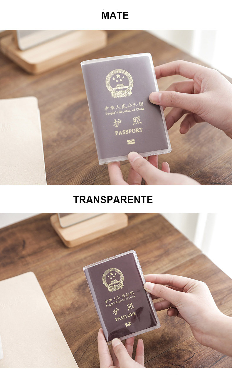 Carcasa de pasaporte